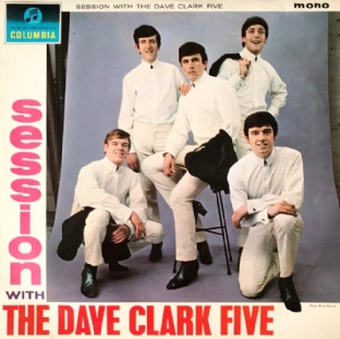 Dave Clark Five (The) - Session With The Dave Clark Five (LP) (G-VG/VG-)